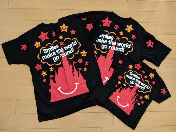 ミッキーTシャツバックプリントの写真