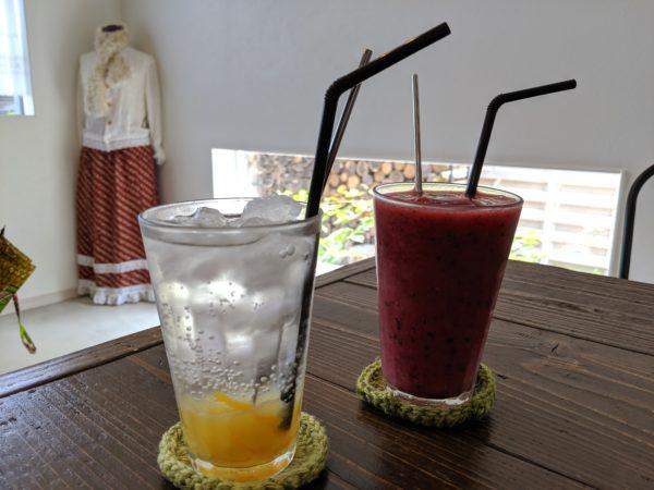 ソーダ柚子ジンジャーとシトラスベリーの写真