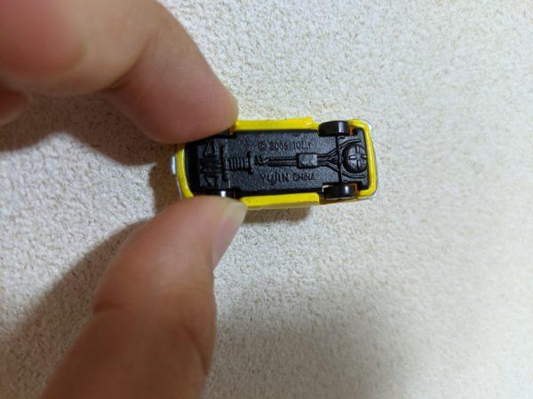 ホンダS800の裏の写真